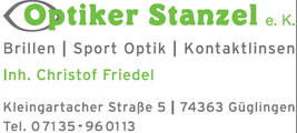 Optiker Stanzel